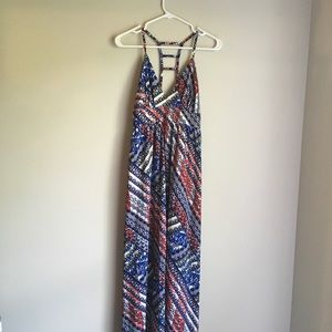 NWT CHARLOTTE RUSSE SUMMER DRESS RED WHITE BLUE SM